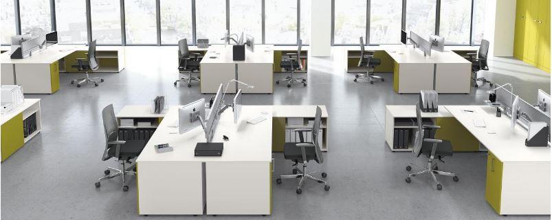 5 bons plans insolites de bureaux partag s for Conception bureau open space
