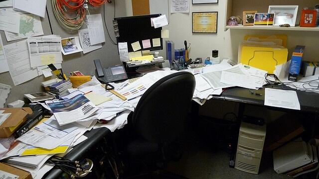 desordre bureau