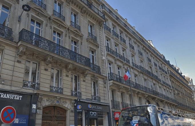 Bureaux Auber Opera Paris